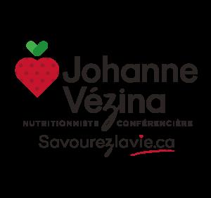 LOGO Johanne Vézina nutritionniste conférencière